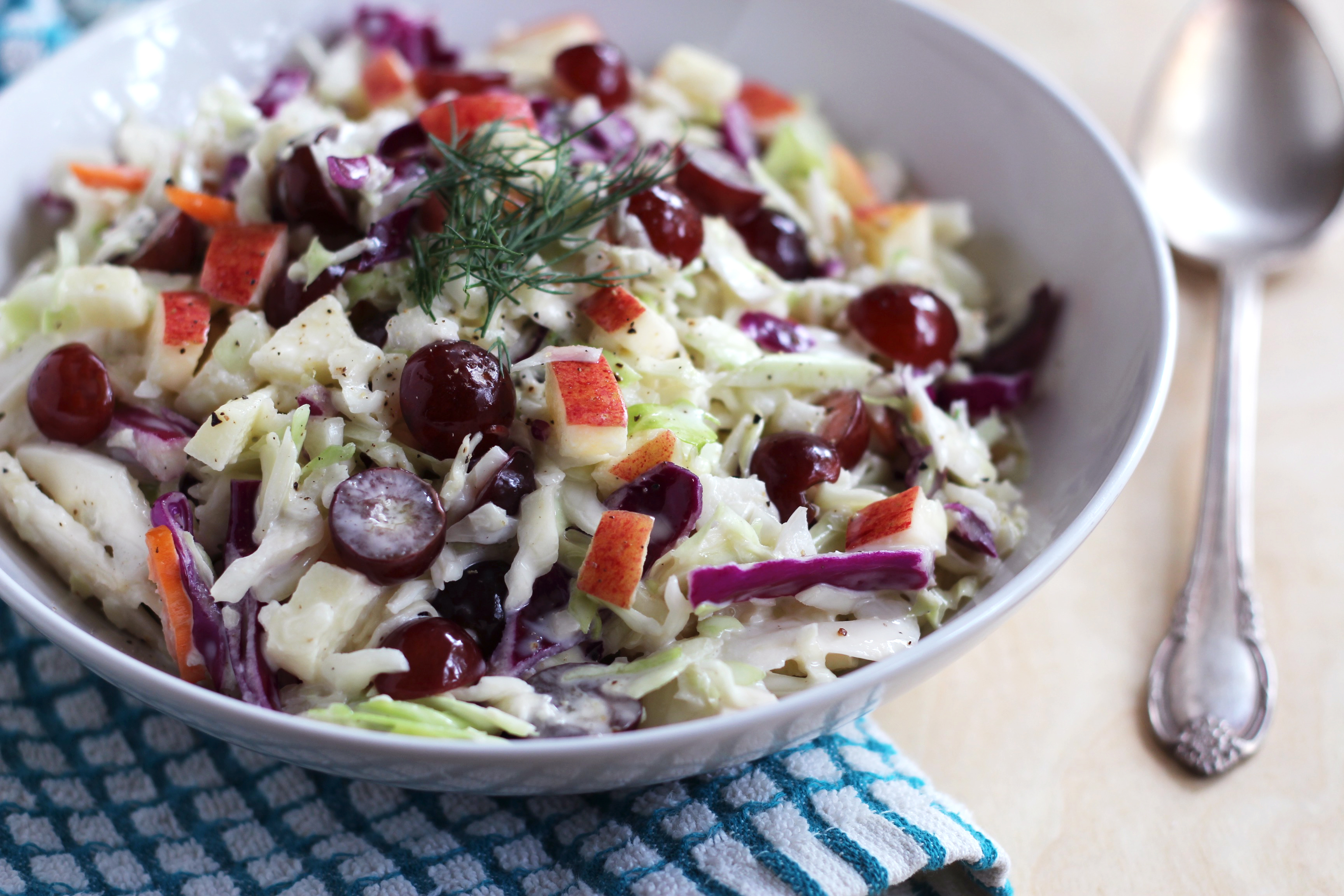 Whole30 Patriotic Coleslaw