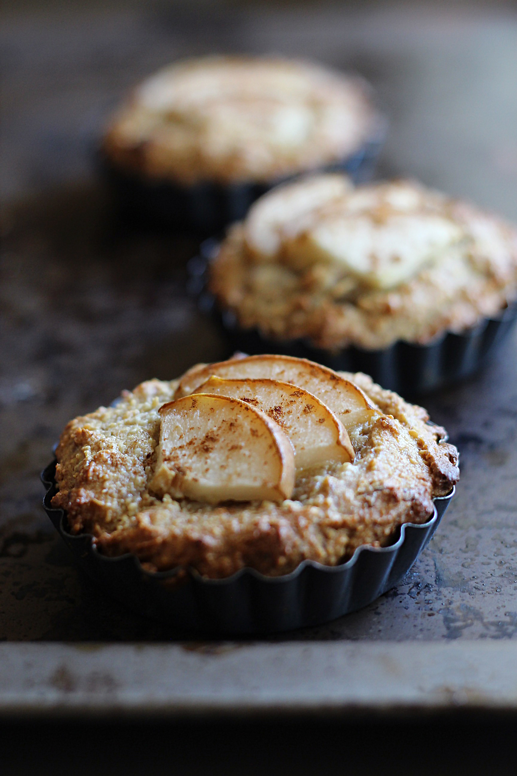 mini pear cake paleo glutenfree 4