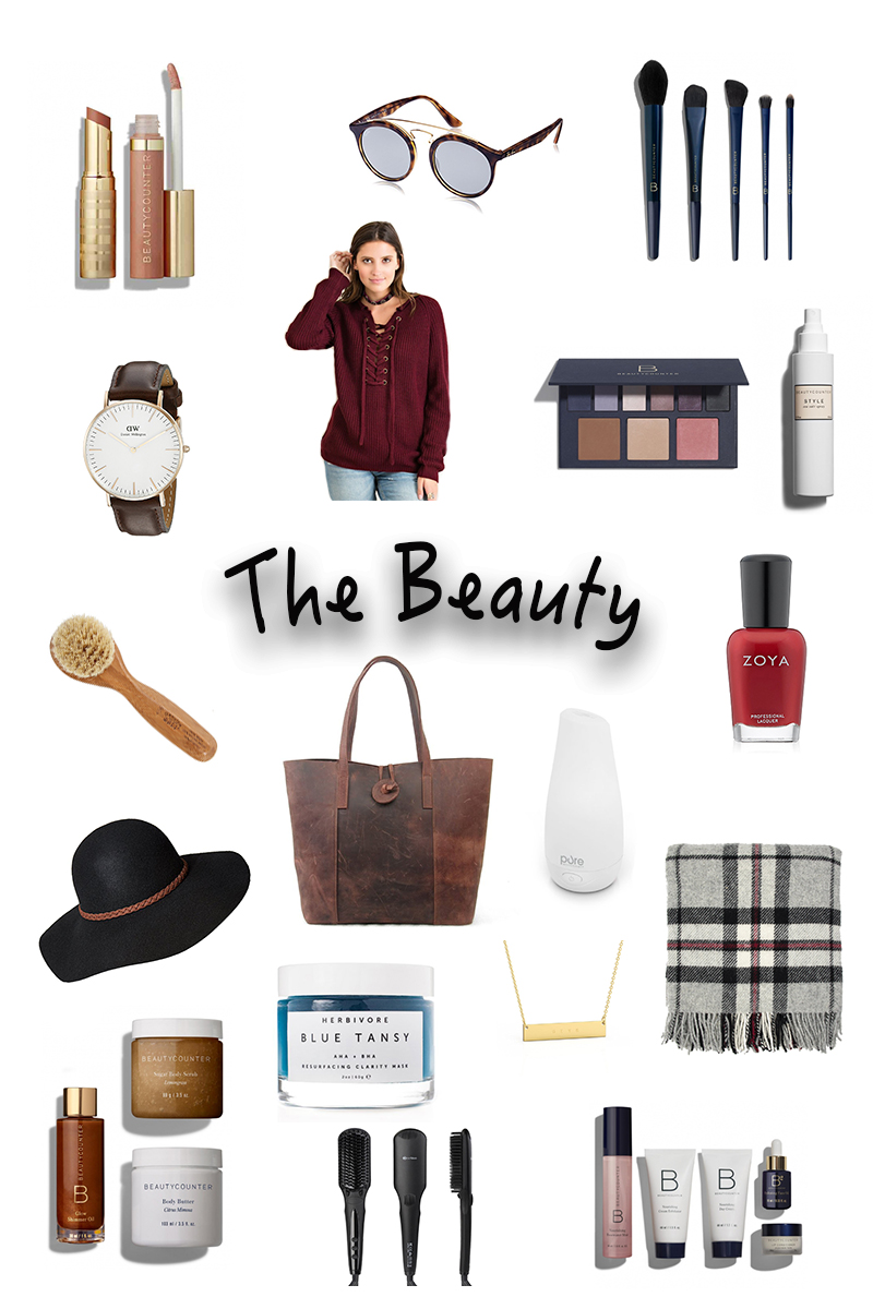 2016 Healthy living holiday gift guide the beauty