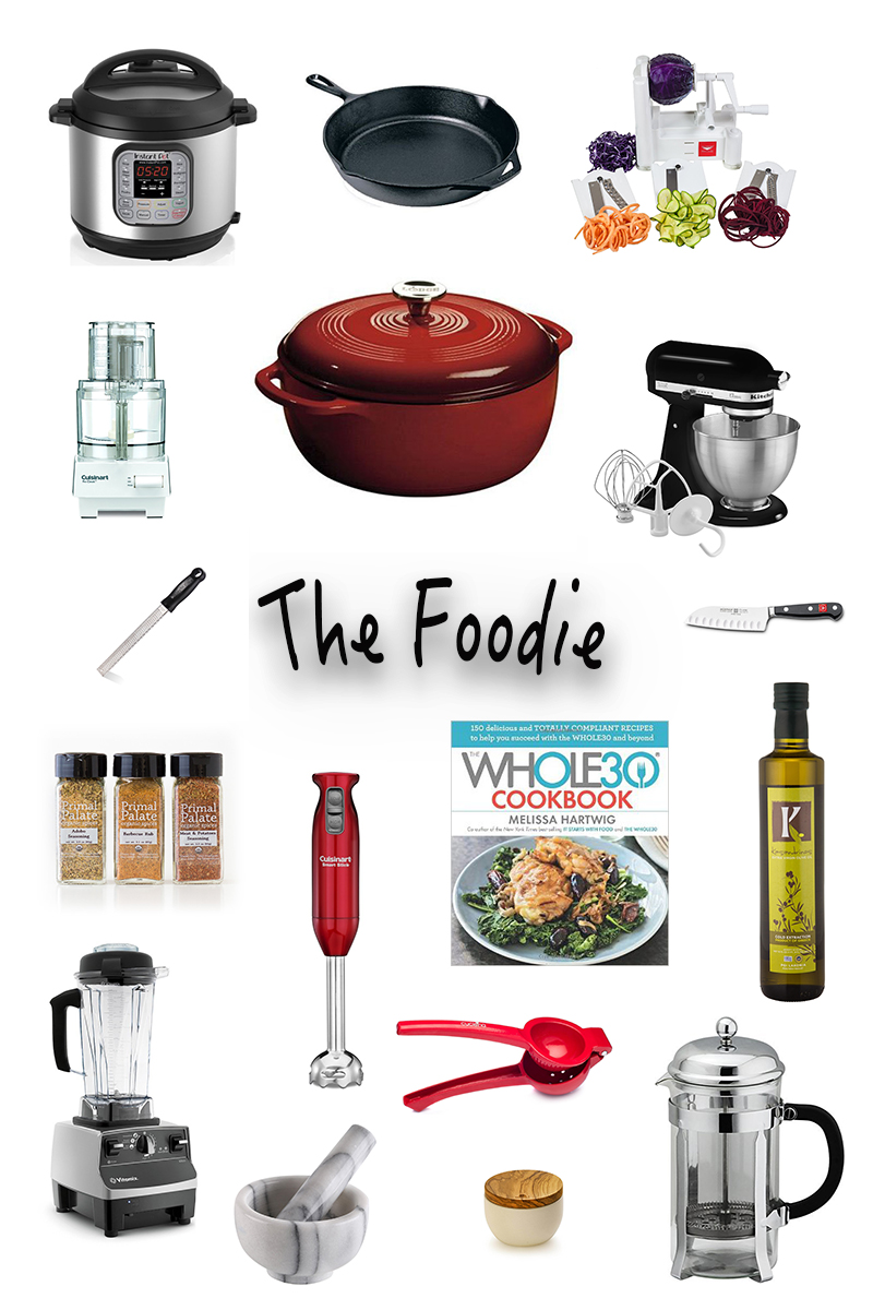 2016 Healthy living holiday gift guide the foodie