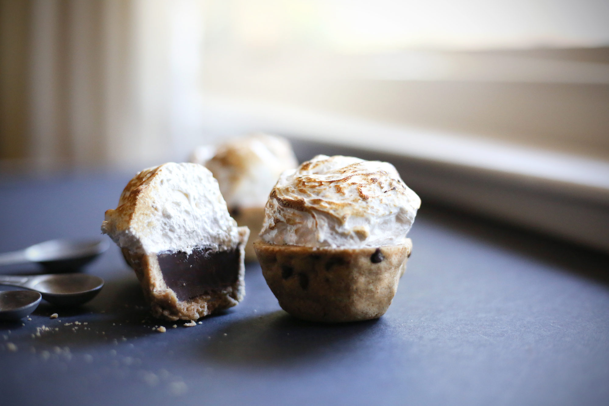 Mini S'mores Cookie Cups - The Paleo Paparazzi
